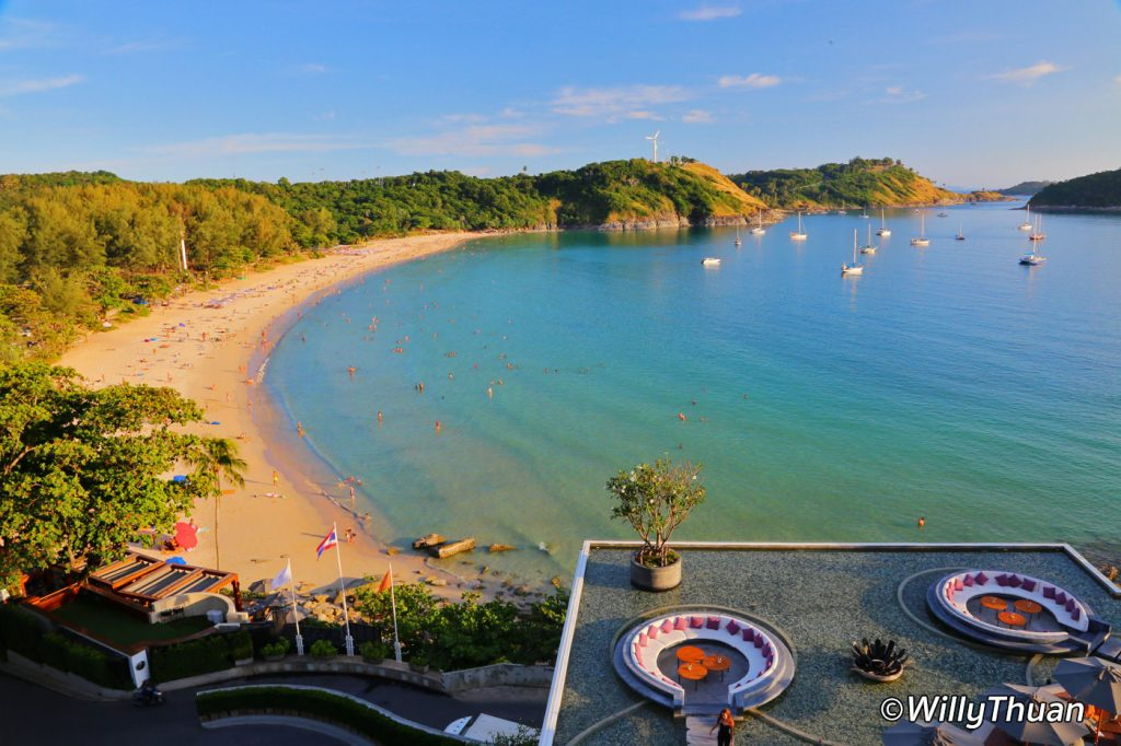 Nai Harn beach in the south of Phuket