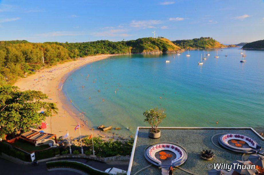 Nai Harn beach in the south of Phuket