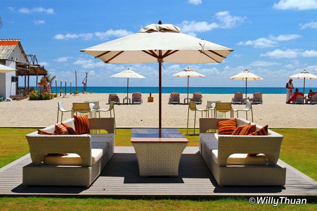 Xana Beach Club on Bangtao Beach