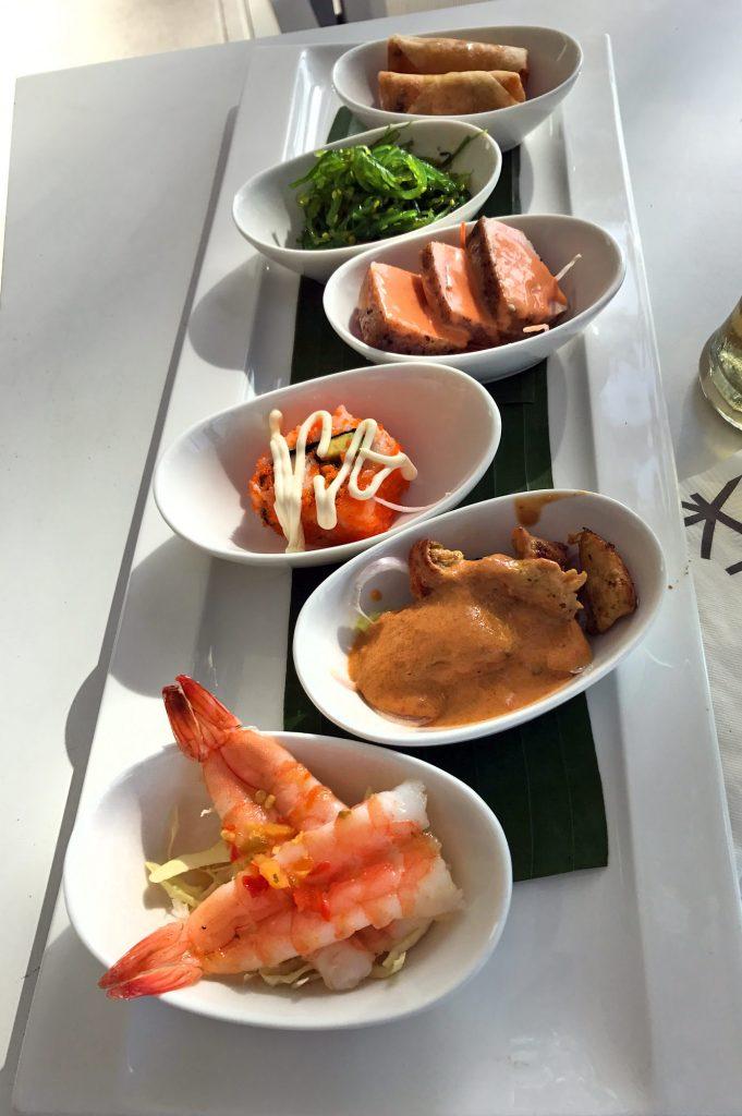 Tapas at Catch Beach Club Phuket