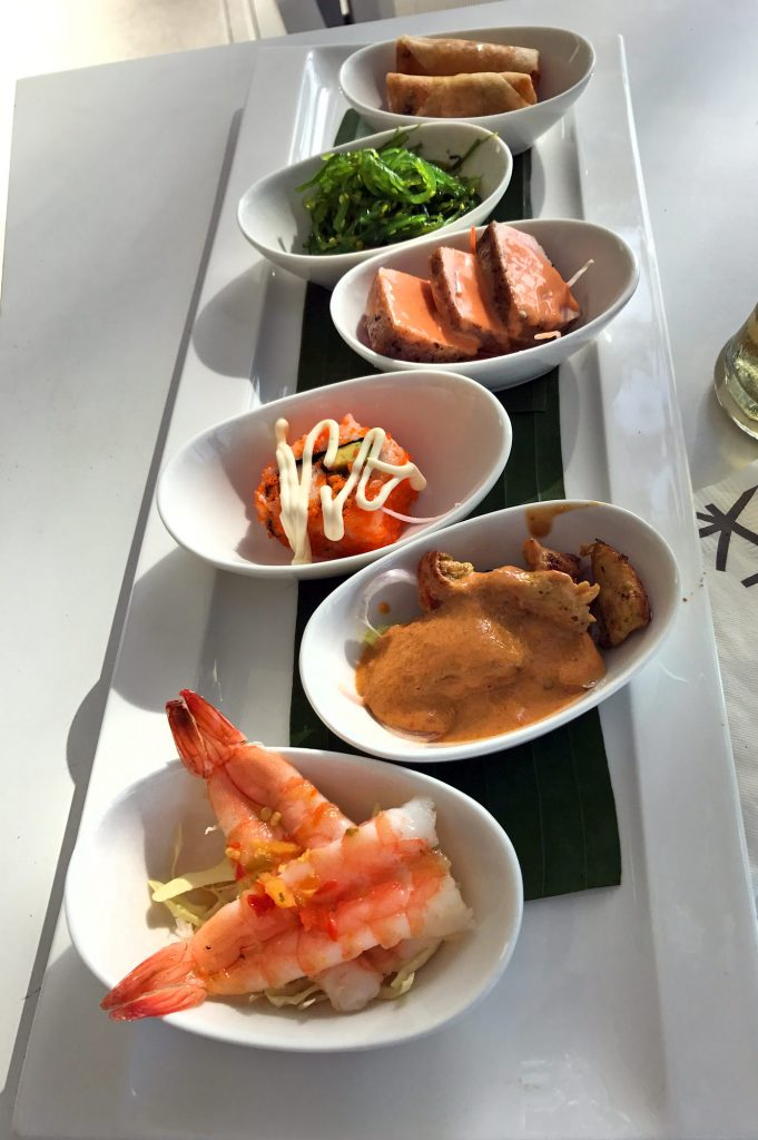 Tapas at Catch Beach Club Phuket