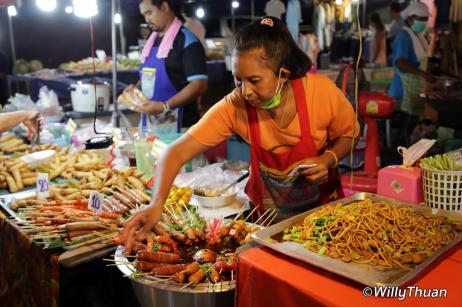 Local Thai Food at Karon Temple Fair