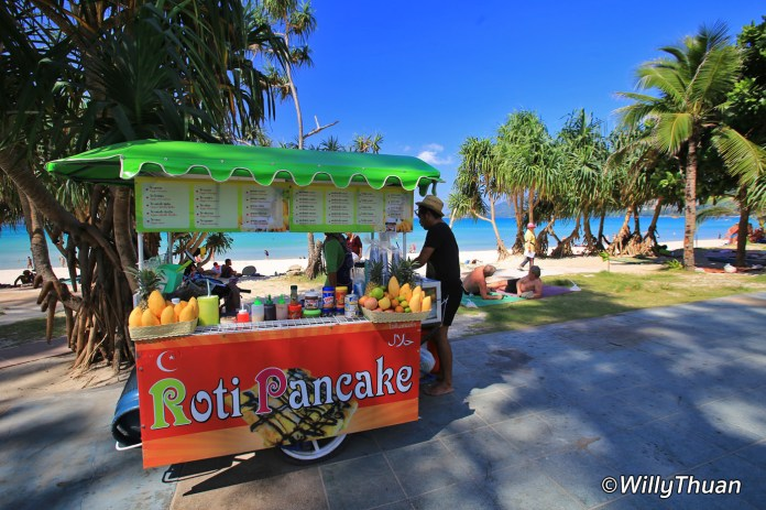 Patong Beach Pancakes and Fruits