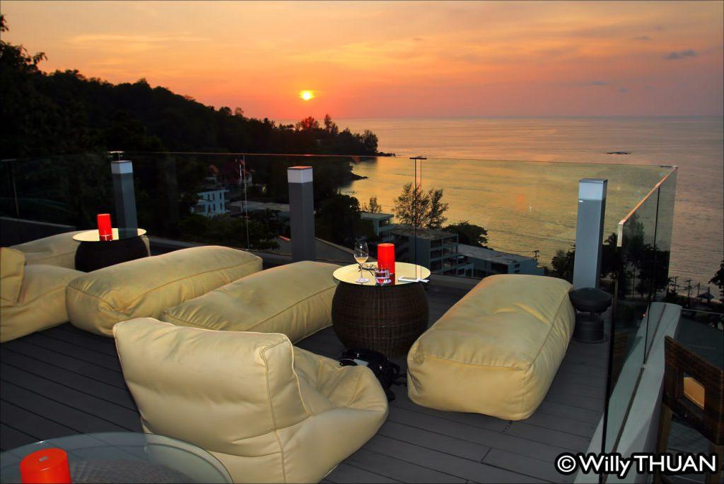 Sunset Bar at Hyatt Regency Kamala Beach