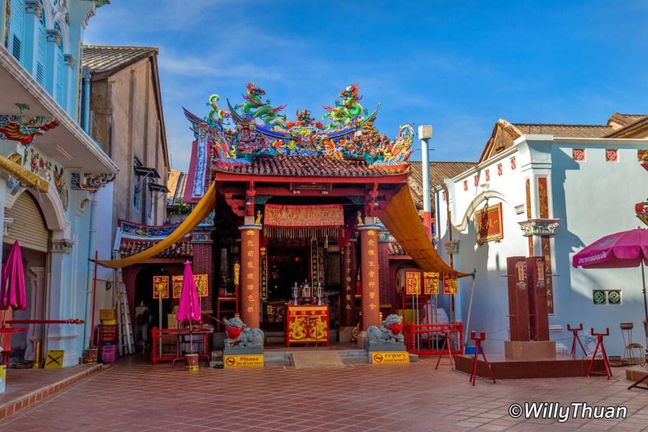 Shrine of Serene Light in Phuket Town