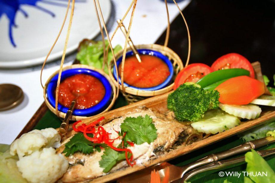 Dinner at Phuket Blue Elephant