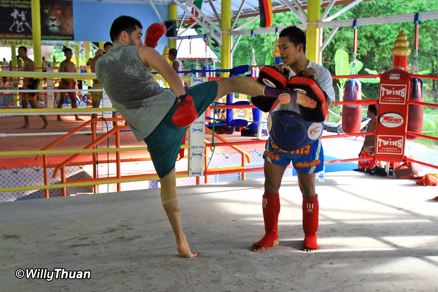 how to get good at muay thai