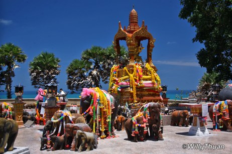 Elephant Shrine at Promthep Cape