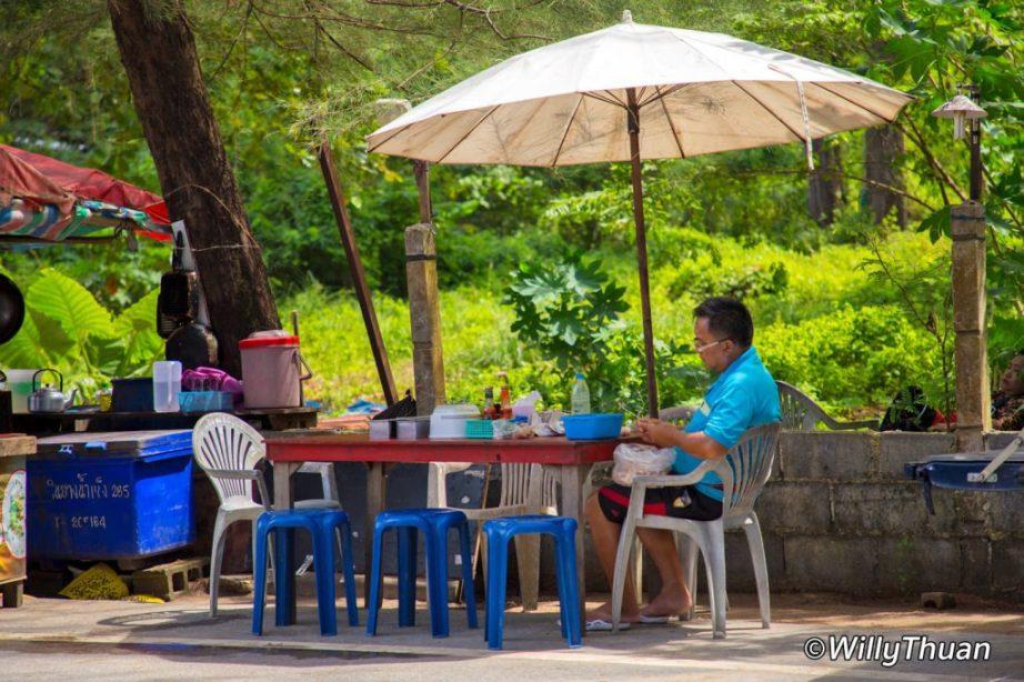 Street Food in Nai Yang Beach