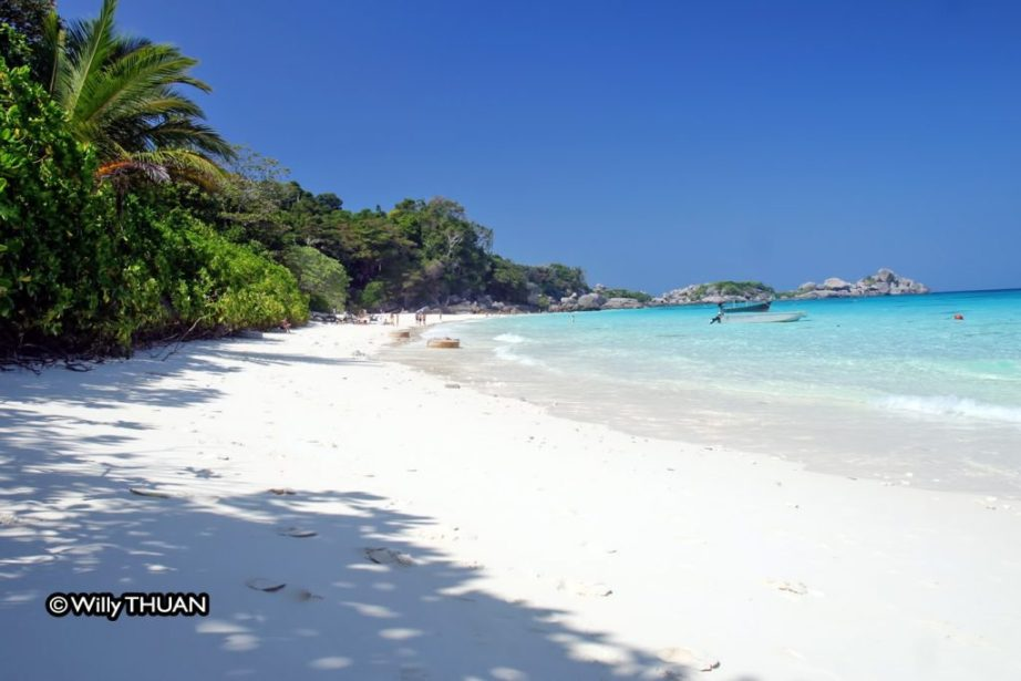 One of the beach on the main island