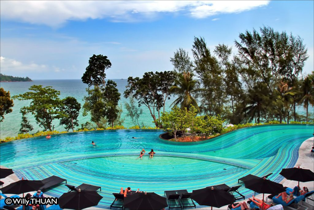 Pullman Arcadia Pool on Naithon Beach Phuket