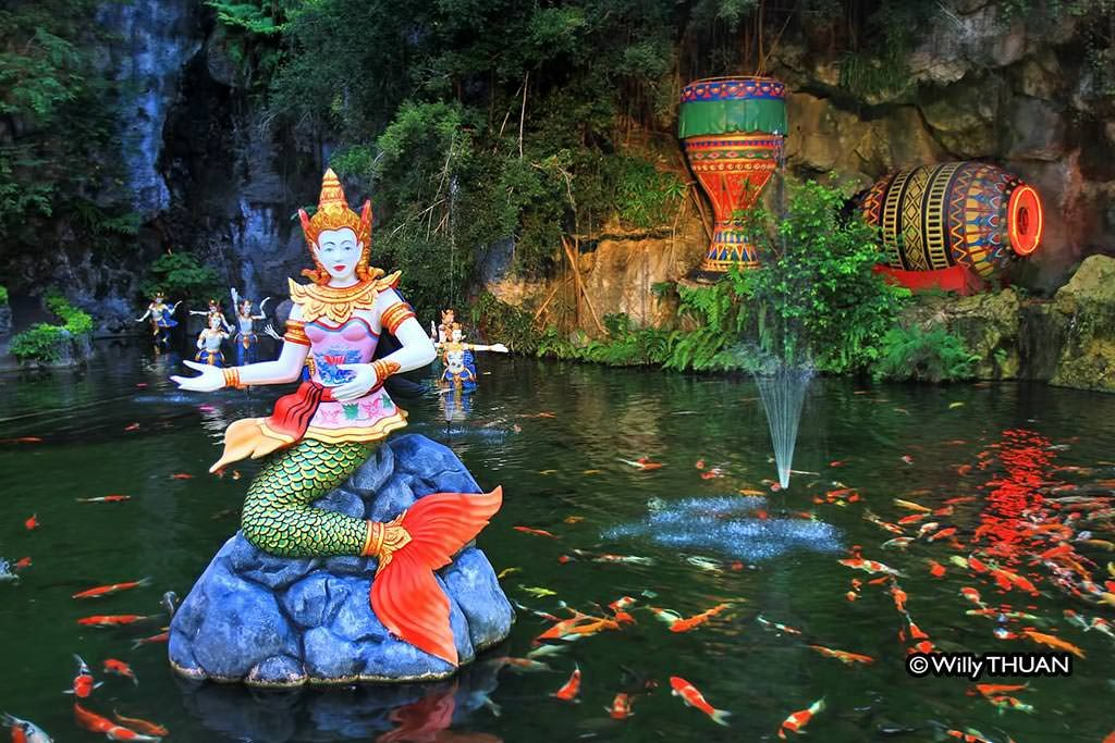 Suvannamaccha Mermaid at Phuket FantaSea in Kamala Beach