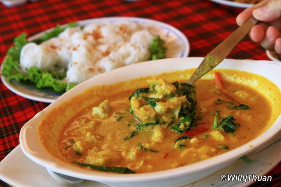Crab Curry at Pak Nam Seafood