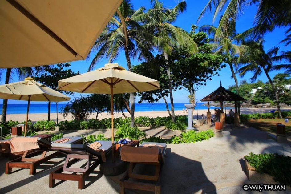 Katathani Resort in Kata Noi Beach