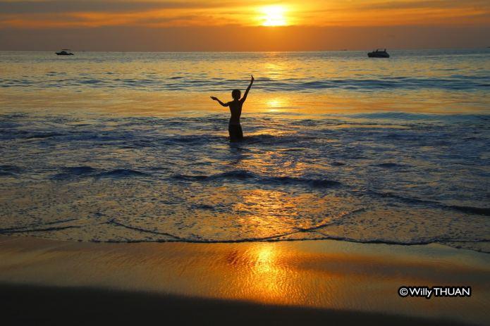 Kata Noi Beach Sunset
