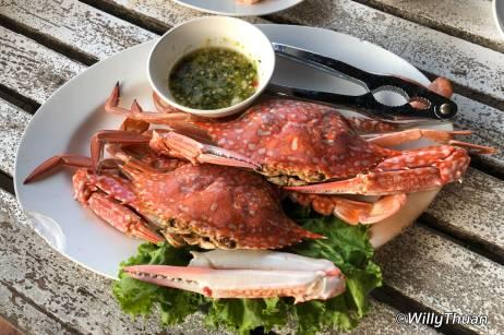 Laem Hin Seafood Blue Crab
