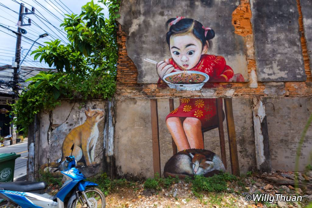 Phuket Street Art - Kathu Village