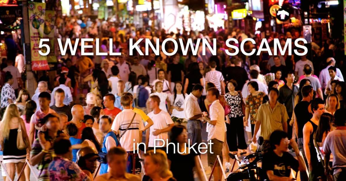 Phuket Scams