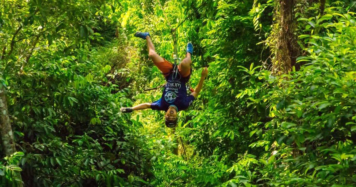 Phuket Zipline - Flying Hanuman Phuket