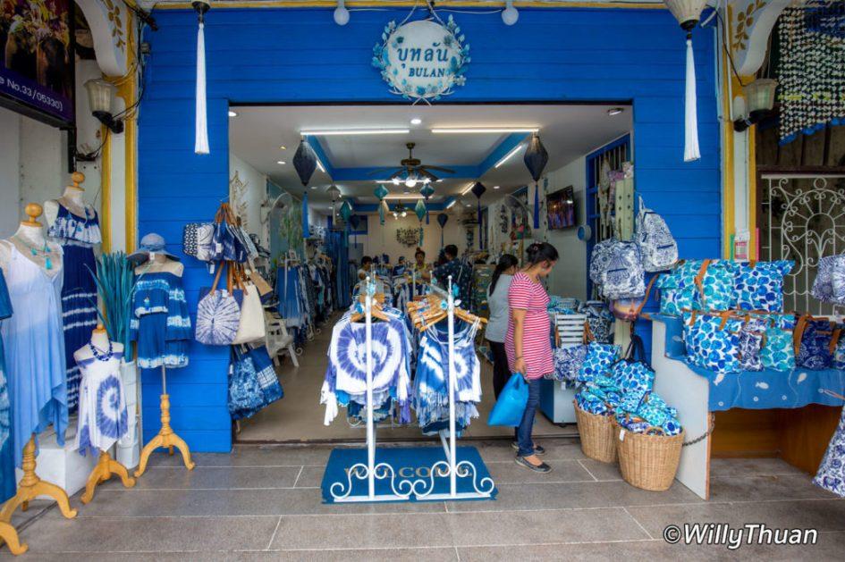 Shopping in Phuket Town