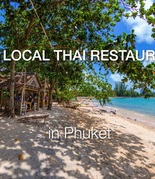 Phuket Best Thai Restaurants