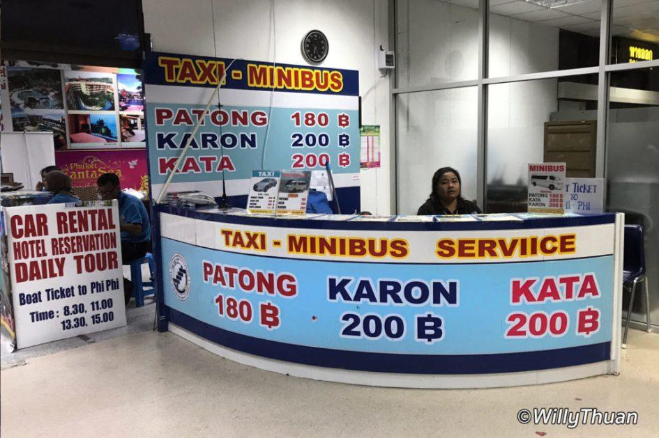 Phuket Airport Transfers by Mini Van
