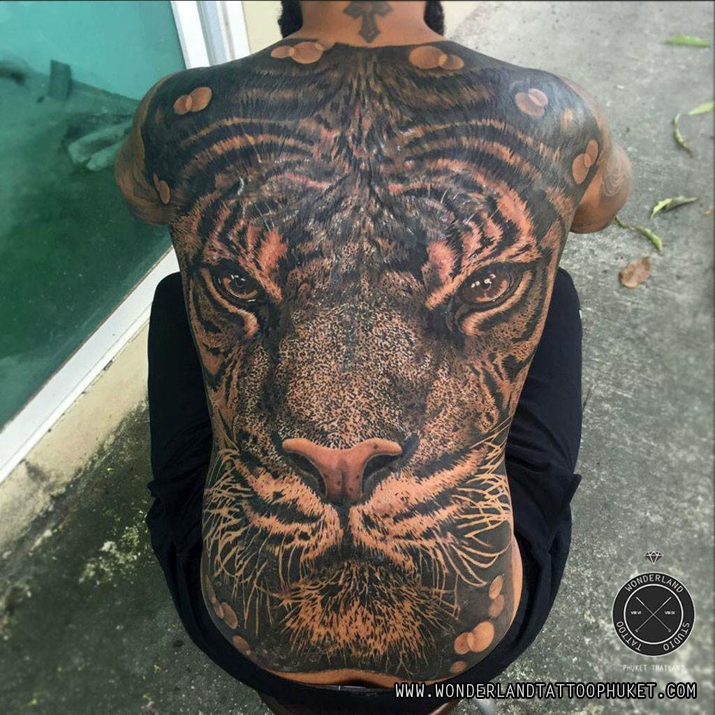 Wonderland Tattoo Studio Phuket