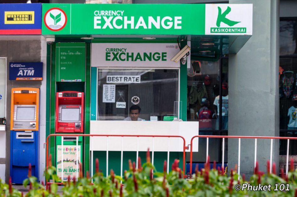 Currency Exchange Phuket