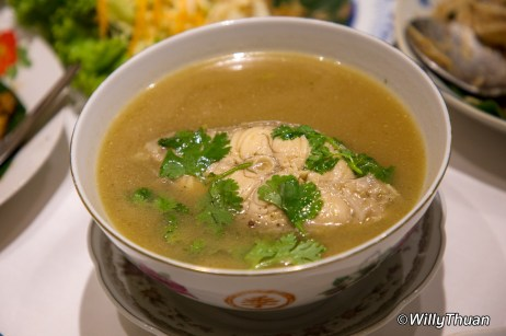Soup Pla Ar-Ma (Fish Soup)