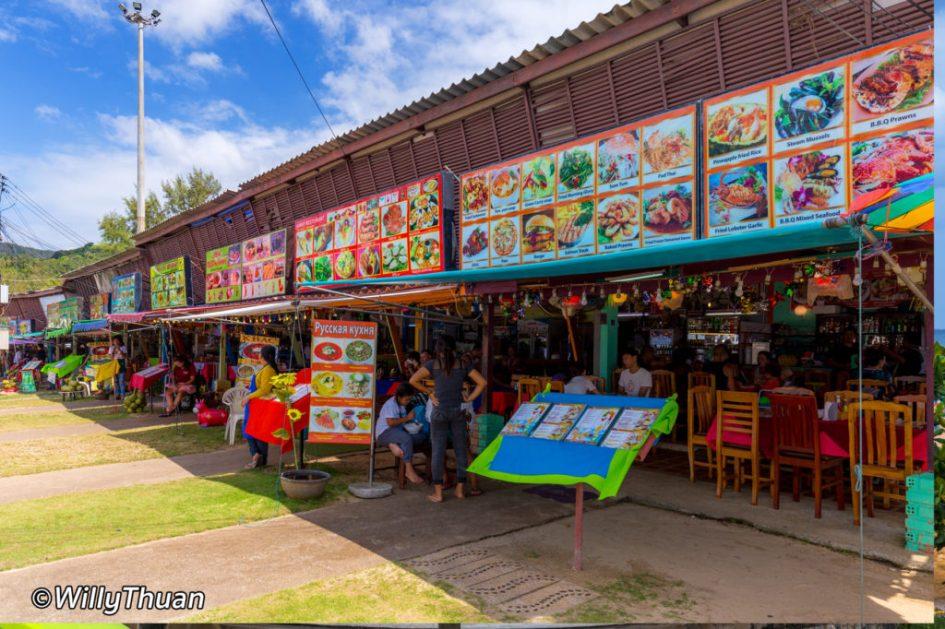 Karon Lake Seafood Restaurants