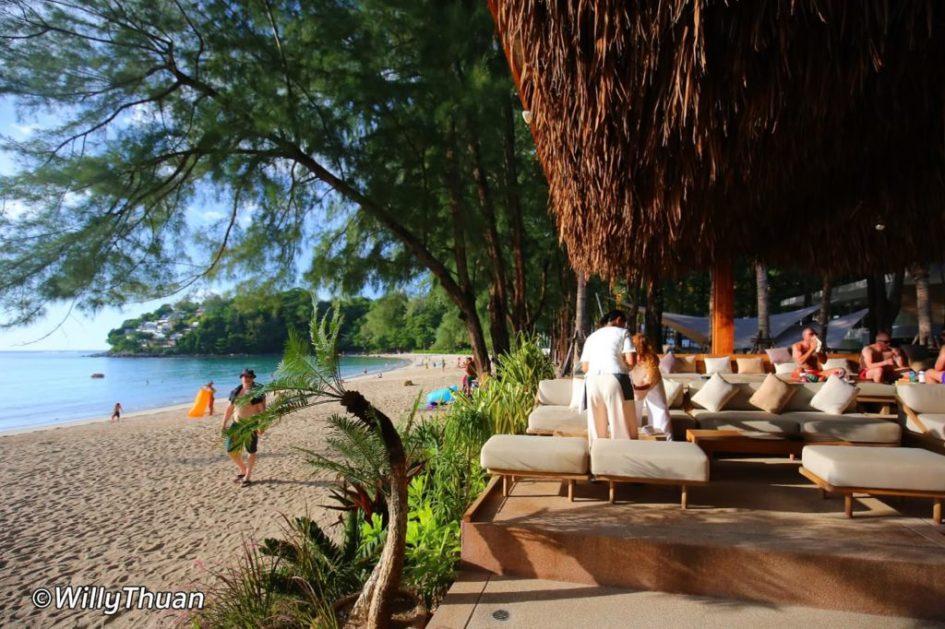 Cafe Del Mar Beach Club in Kamala Beach Phuket