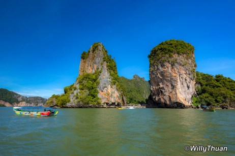An iconic island in Phang Nga Bay