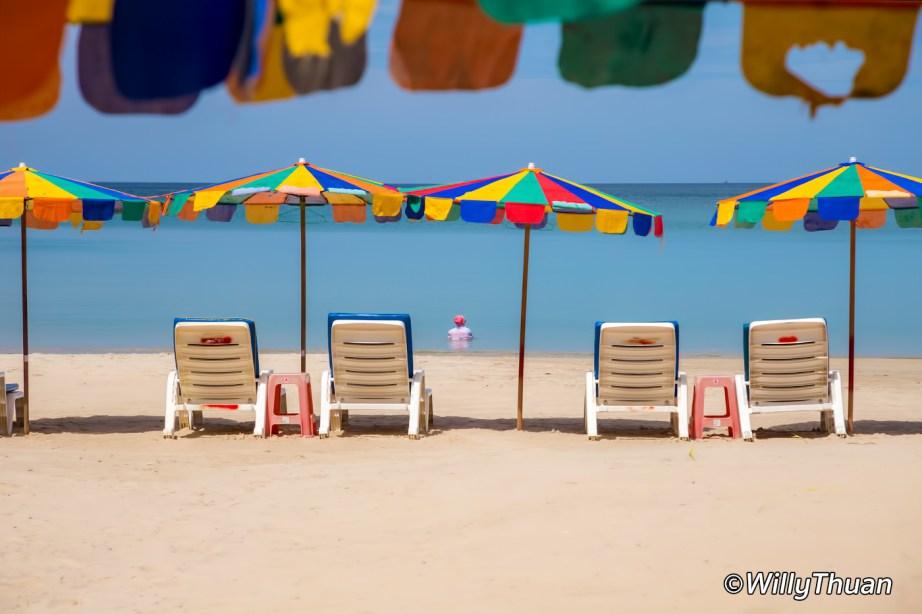 Nai Yang Beach on a sunny day