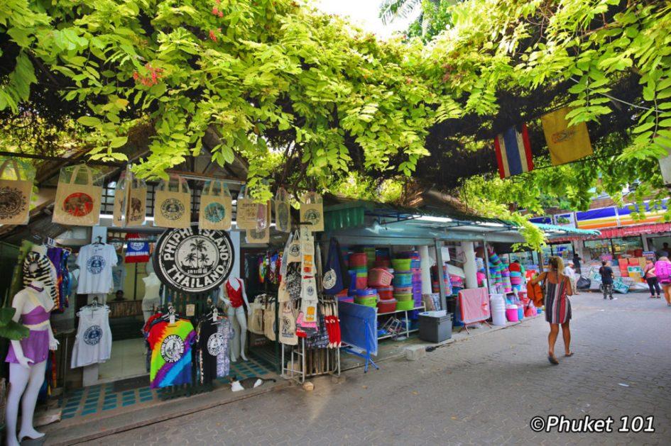 Shopping street in Phi Phi Island