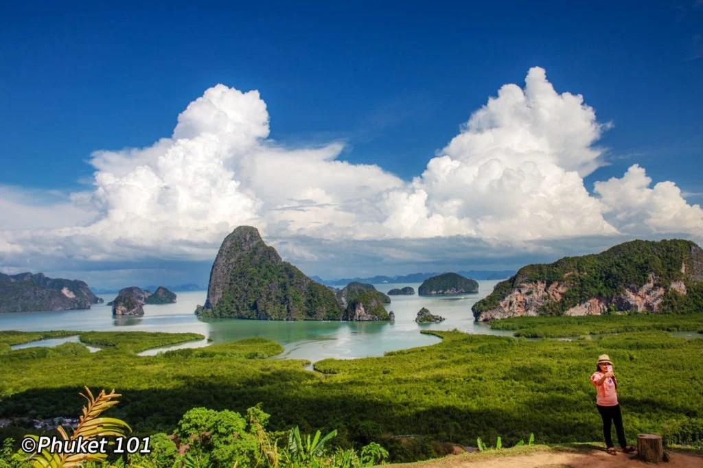 View of Phang Nga Bay