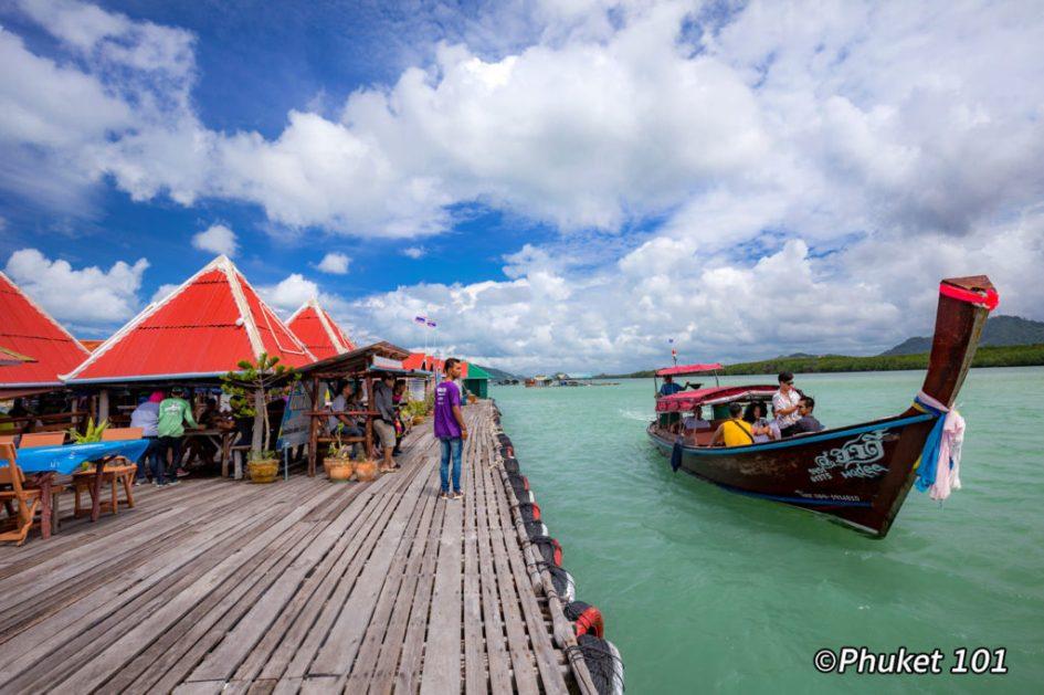 Kruvit Raft restaurant Phuket