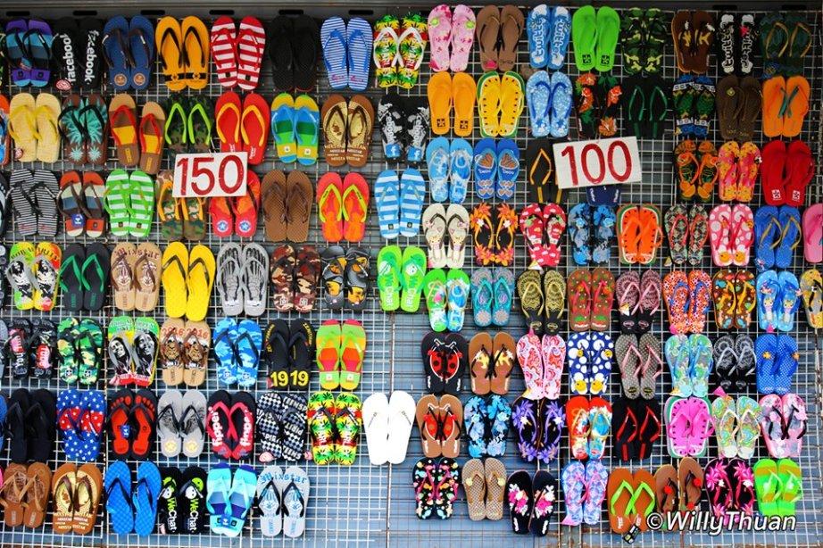 Beach Sandals shopping in Phuket