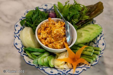 Nam Prik Kai Poo น้ำพริกไข่ปู