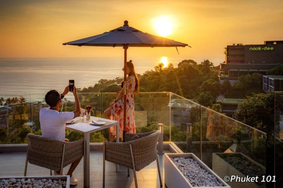The Sundeck Bar and Restaurant in Phuket