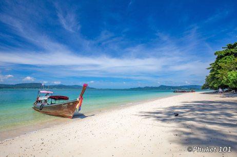 Longtail boat to Rang Yai Island