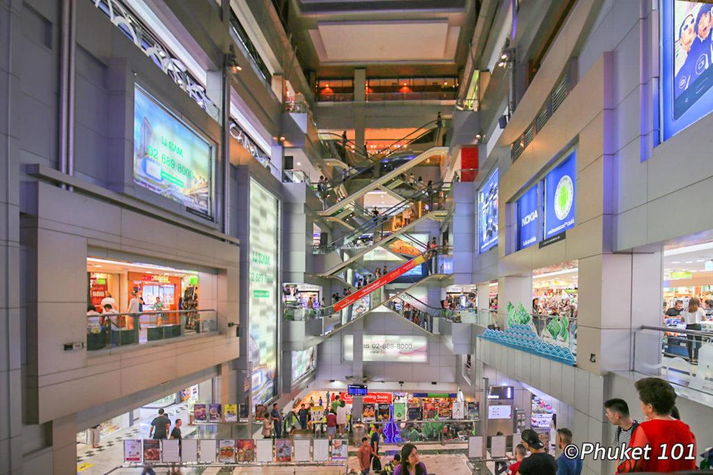 Inside MBK Center Bangkok
