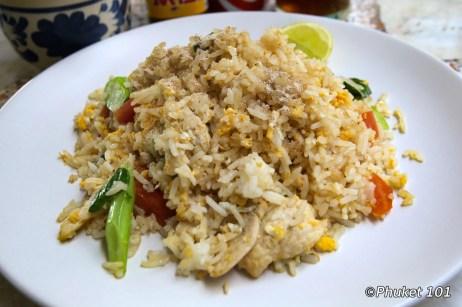 The best Kao Pad Kai in Phuket