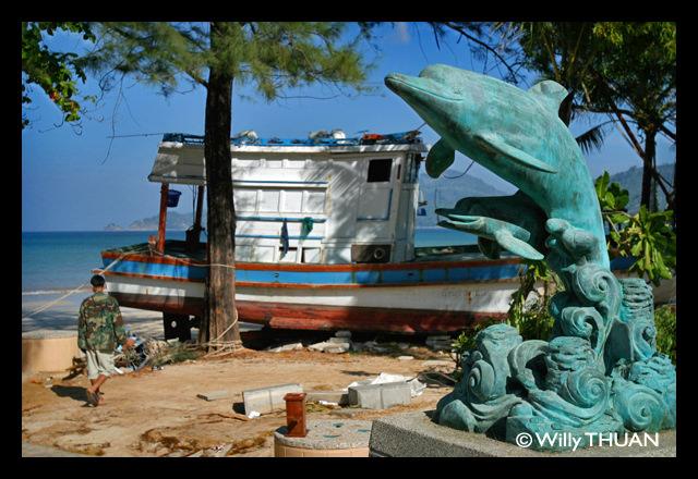 Tsunami day in Phuket 2004
