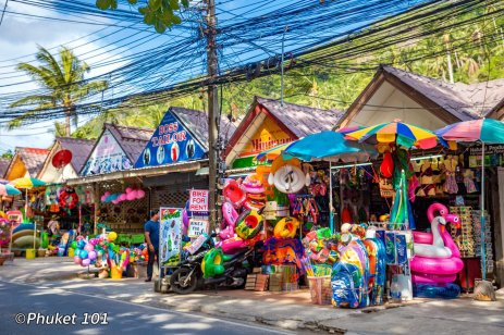 Shopping in Nai Harn