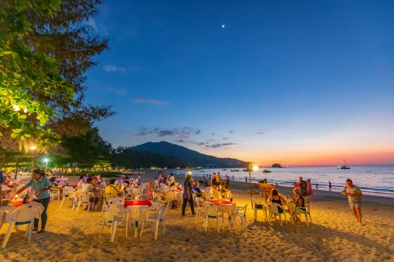 Beach Dining in Nai Yang