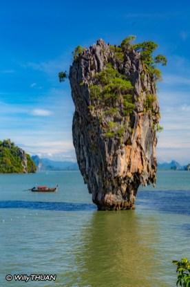 James Bond Island in Phang Nga Bay