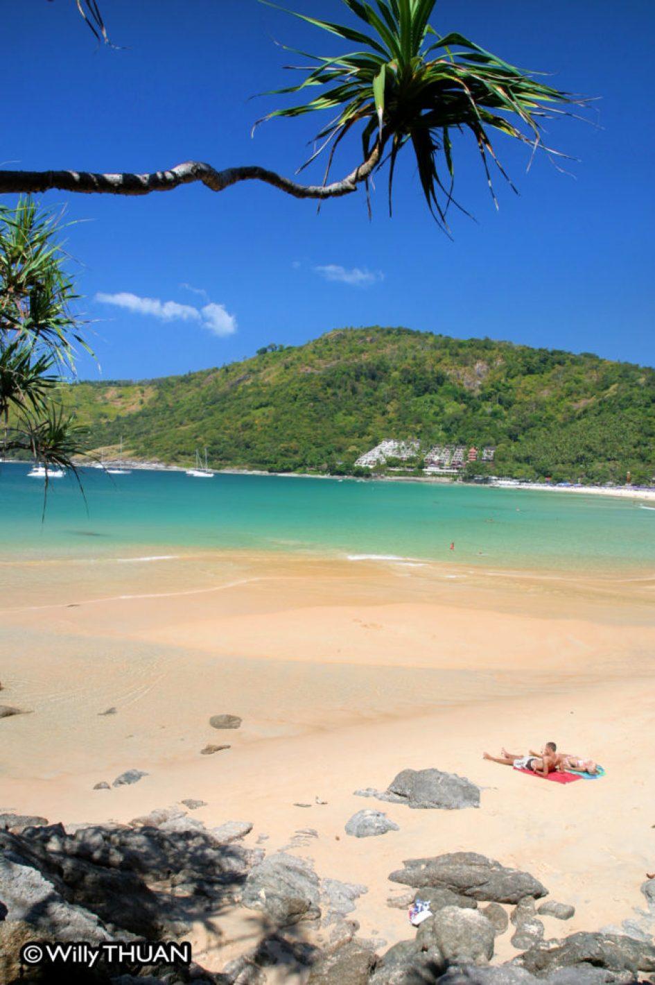 Nai Harn Beach in South Phuket