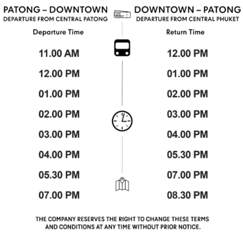 Central free shuttle schedule