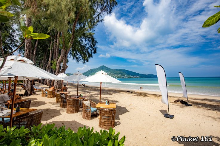 Pine Beach Club at Intercontinental Hotel Phuket on Kamala Beach