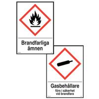 Varningskyltar